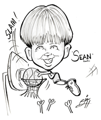 caricatures conn